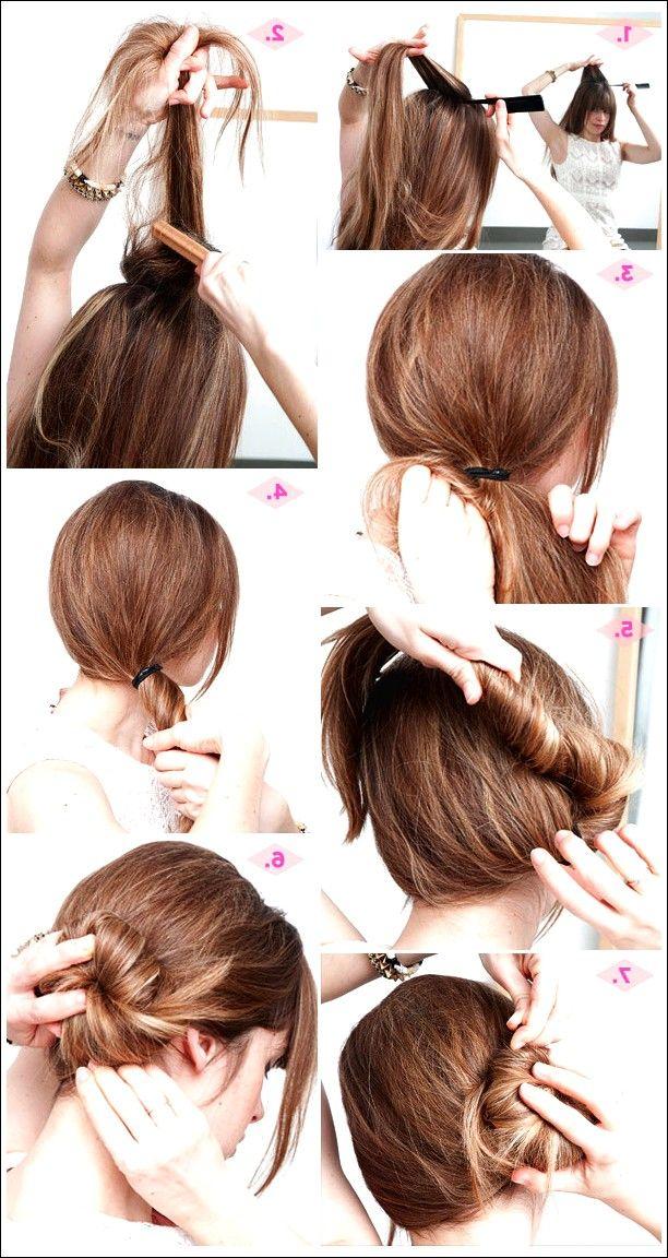 30 Einfach 5 Minuten Frisuren Fur Frauen Frisuren Schnelle Frisuren Und Diy Frisuren