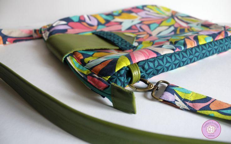#bolsos #handbags #handmade #costura #patchwork #cuero #leather