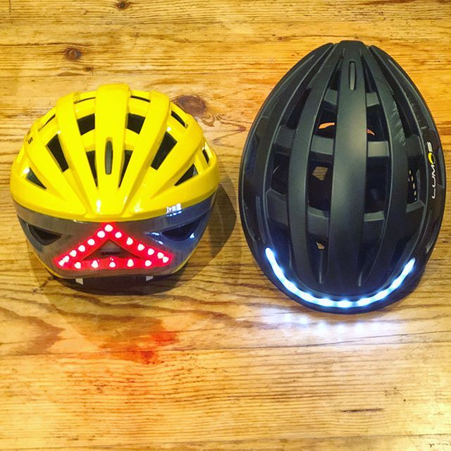 Then there were two!! Whilst my original @lumos_helmet seemed to survive my recent bike crash without an issue... if you've dinged a helmet on the floor, probably best to replace it. Now I've gone #YELLOW (which wasn't available when I got my first #lumoshelmet) still waiting for these guys to release a #mips version to be super safe! #helmet #lumos #commuter #cycling #besafebeseen #lumosbikehelmet