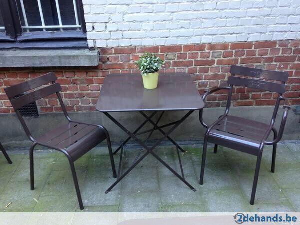 Gebruikt: Gezocht terras stoelen Vedett (Tuinstoelen) - Te koop in Antwerpen