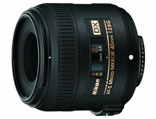 Nikon 40mm f/2.8G AF-S DX Micro NIKKOR Lens for Nikon Digital SLR Cameras $276.95