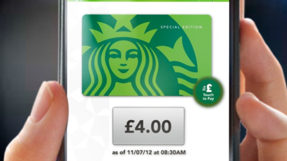 Now you can pay for your purchases at all Starbucks company-operated stores in the UK with our mobile applications for iPhone and Android(TM).