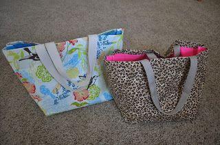 DIY No Sew Bags!