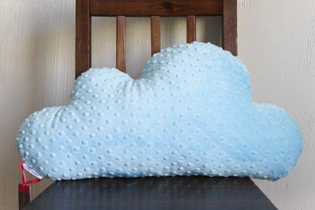 Poducha chmurka - minky - 60 cm.