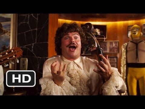 Jack Black or Nacho Libre sings to the great Ramses ...
