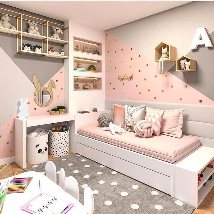 Cute Wall Color Bedroom Design And Decoration Ideas 17 Bedroomhomedecorilove Bedroom Wall Colors Bedroom Design Girl Room