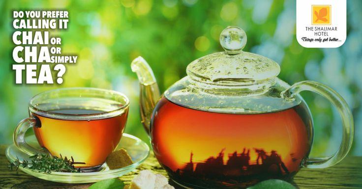 January 2017 - Hot Tea Month