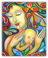 My favorite Mother and Child Painting