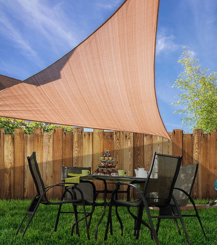 DIY Coolaroo Shade Sails