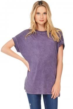 MINERAL WASH TOP BY TRES BIEN CLOTHING