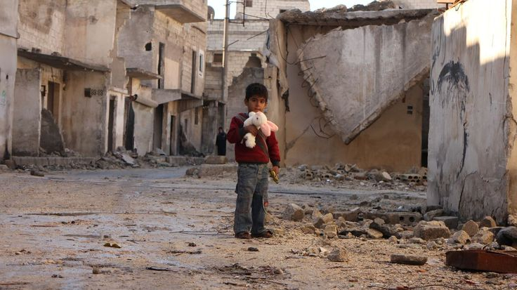 "A child in Aleppo, Syyria; ""What is meat?"""