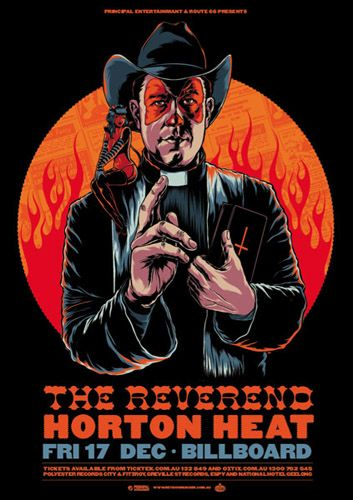 23 best images about the reverend horton heat on pinterest the reverend concert posters and. Black Bedroom Furniture Sets. Home Design Ideas