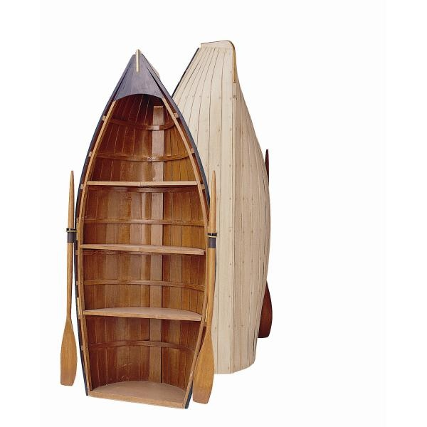 Boat Shape Bookcase - WoodWorking Projects & Plans