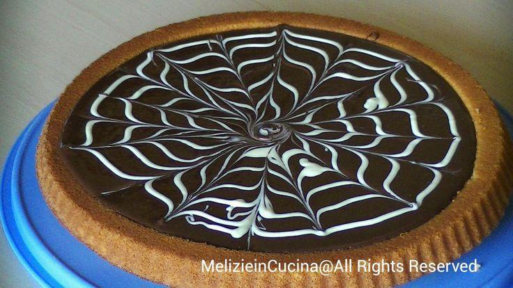 Crostata Morbida con cioccolata fusa di copertura, dolce facile e versatile per mille preparazioni, ricetta facile passo passo con video ricetta