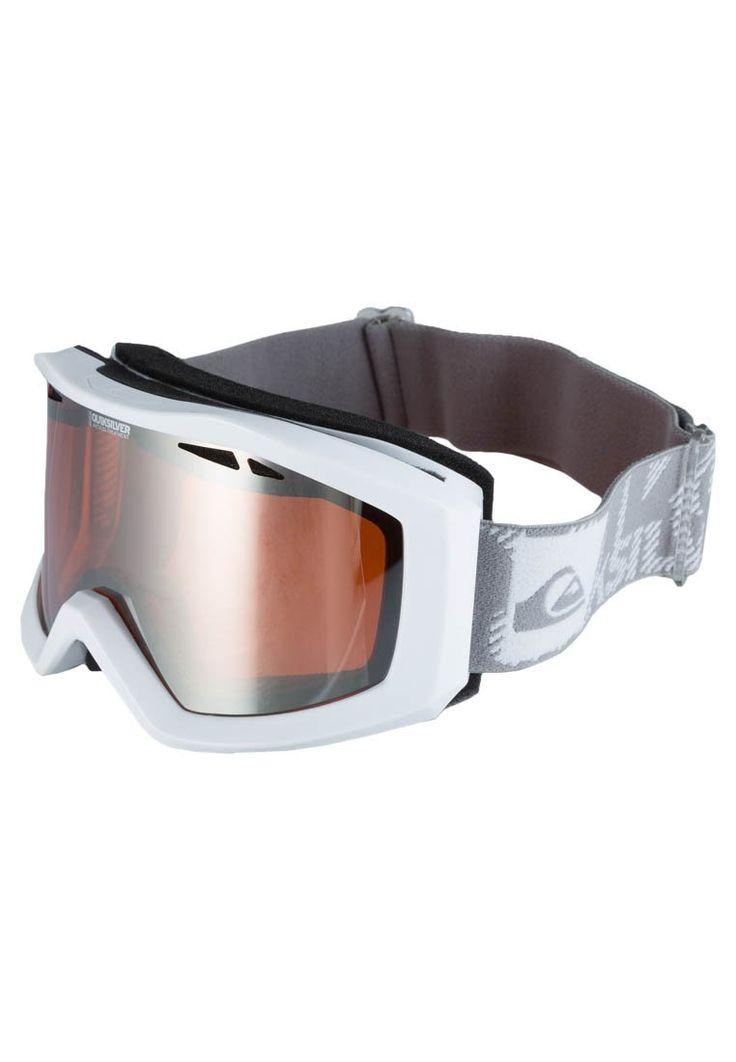 Quiksilver - FENOM MIRROR - Gogle narciarskie - biały