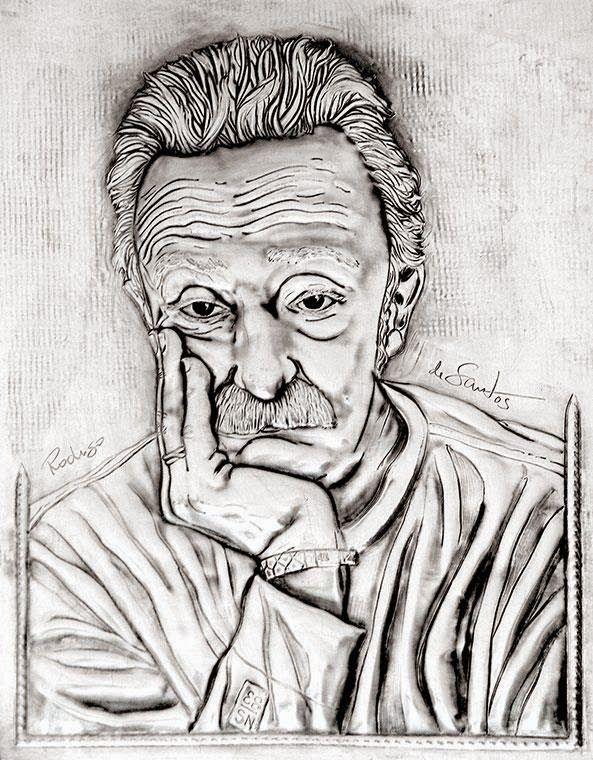 ArteyMetal: Retrato de Santi Rodríguez 5