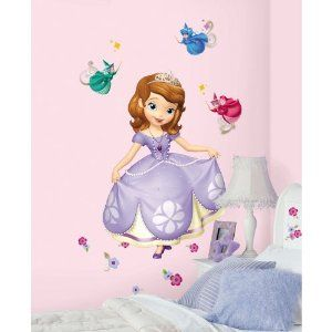Sofia the First Wall Decals Megapack