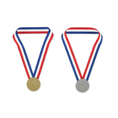 make ur own medals for the kids next party n games
