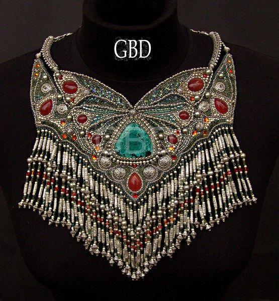 Amazing bead embroidery of Guzel Bakeeva | Beads Magic