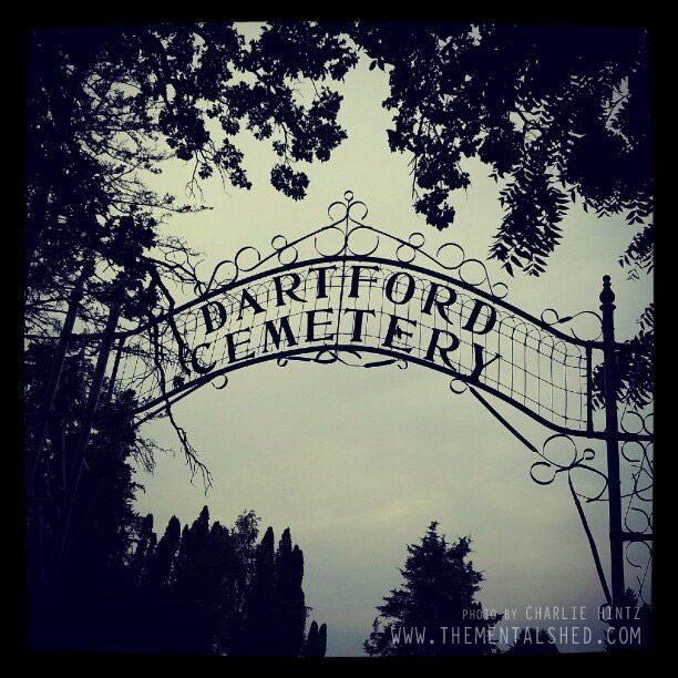 Road trip to the haunted Dartford Cemetery in Green Lake, WI http://www.wisconsinsickness.com/death-trip/dartford-cemetery-road-trip/