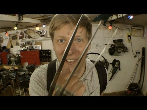 Inventor Creates Retractible Wolverine Claws, Has The Best Day Ever! DIY WOLVERINE CLAWS!