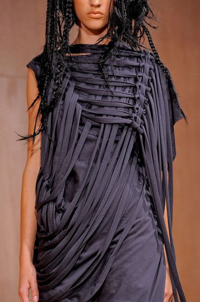 Junya Watanabe very interesting loose weaving