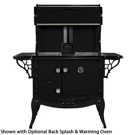 Waterford Stanley Wood Cook Stove - Matte Black