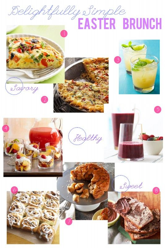 25+ best easter brunch menu ideas on pinterest | brunch menu