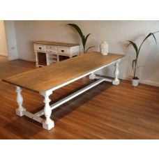 Large 3.6m Ellena Reclaimed Pine Dining Table