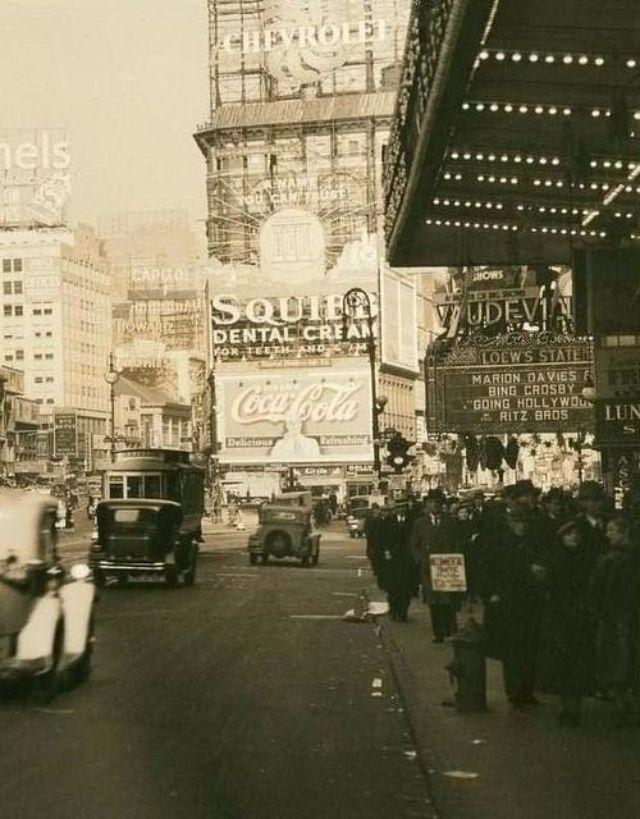 vintage everyday: New York City's street scene, 1934