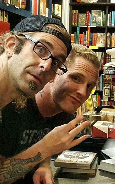 Corey and randy blythe ◉‿◉