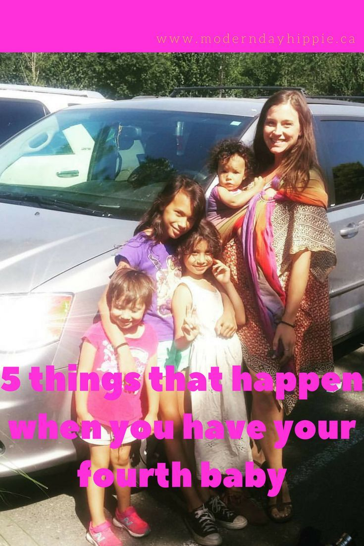 You'll see a woman with her 4th baby and think she's crazy. Then you'll realize you also have four kids, and therefore are equally as crazy! via @Modern Day Hippie Mama