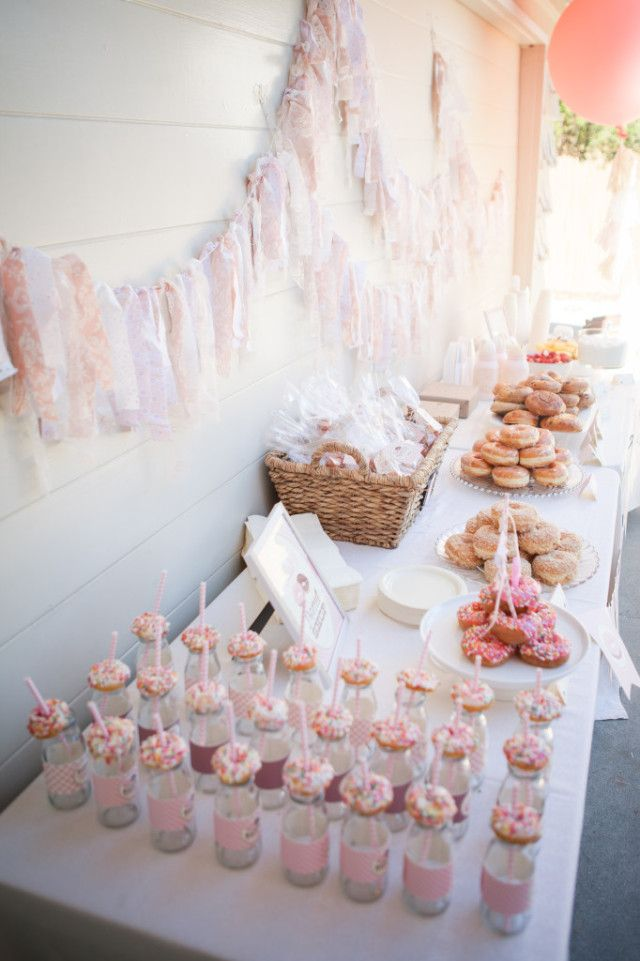 Donut-Themed Birthday Party Sweets Table - Project Nursery