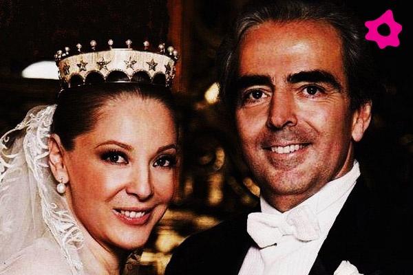 Edith González y el empresario Lorenzo Lazo, se casaron en septiembre de 2010