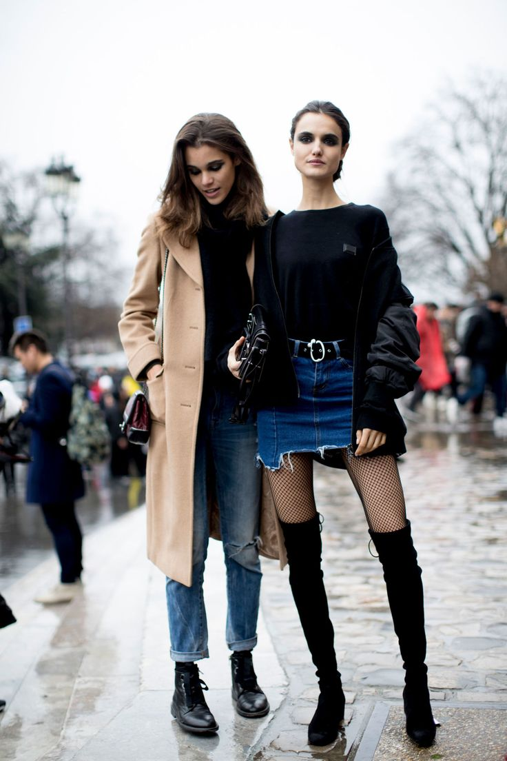 Models Off Duty: Paris Fashion Week AW17 - March 2017