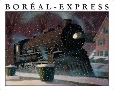 Boréal-express    Par Chris Van Allsburg.