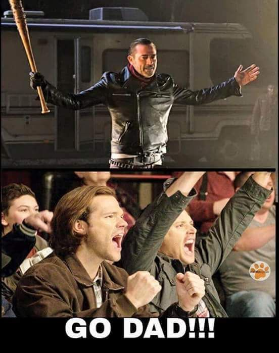 I don't even know where to post this... Supernatural, or Walking Dead?