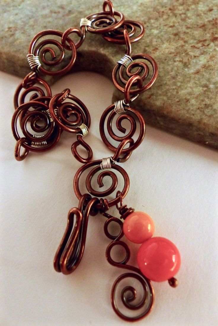 A personal favourite from my Etsy shop https://www.etsy.com/au/listing/249655258/favourite-black-copper-spiral-bracelet