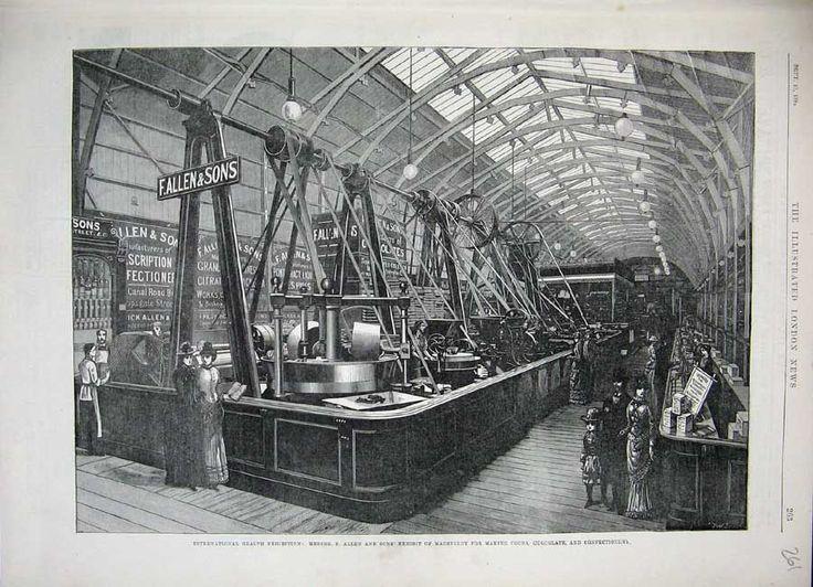 1884 South Kensington - International Health Exhibition