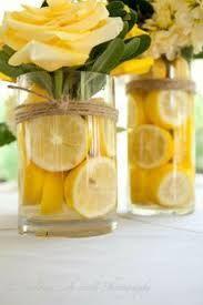 lemon themed wedding centerpieces - Google Search