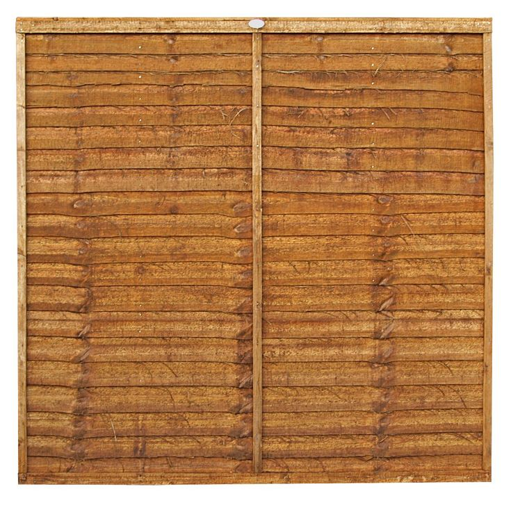 Traditional Timber Overlap Fence Panel (W)1.83m (H)900mm | Departments | DIY at B&Q