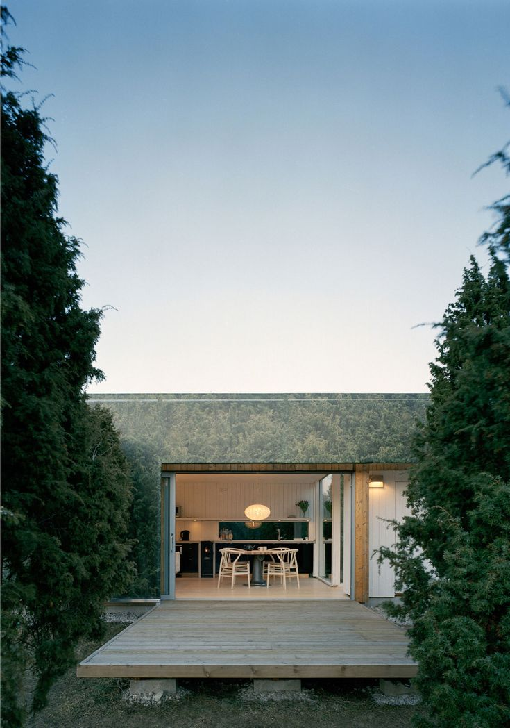 Juniper House in Gotland by Murman Arkitekter | http://www.yellowtrace.com.au/wrapped-buildings/