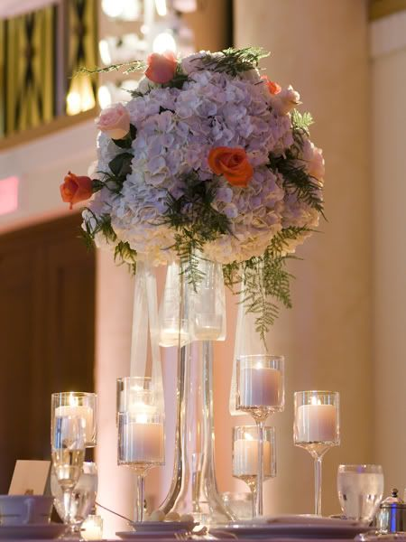 Wedding Floral Arrangements Using Hydrangeas | Wedding Flowers Pictures, Images and Photos