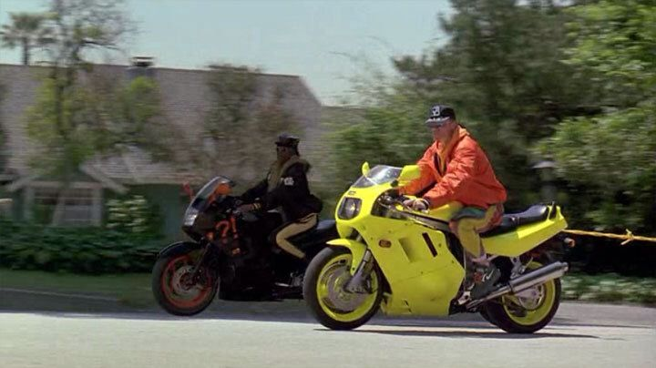 gsx r1100 1991 in cool as ice | Motorcycle in movie ...