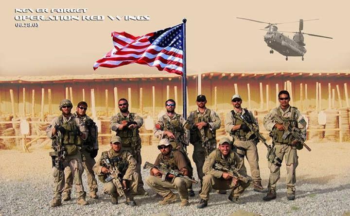 Operation Red Wings. Fallen, Never Forgotten. June 28, 2005