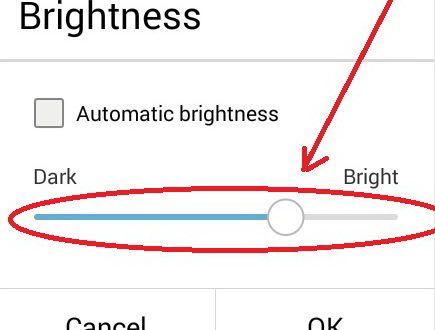 Change Brightness Screen on Asus Zenfone