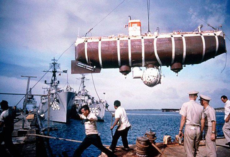Trieste Bathyscaphe opération Rolex deep sea special http://lovetime.fr/2013/04/17/rolex-story-la-submariner-cette-legende/