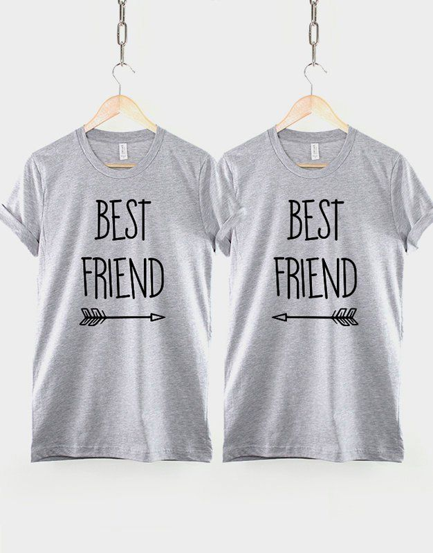 db4510e4 Kids Matching Best Friends T-Shirts Set - Childrens Size Best Friends Shirts  Twin Pack by ResilienceStreetwear on Etsy
