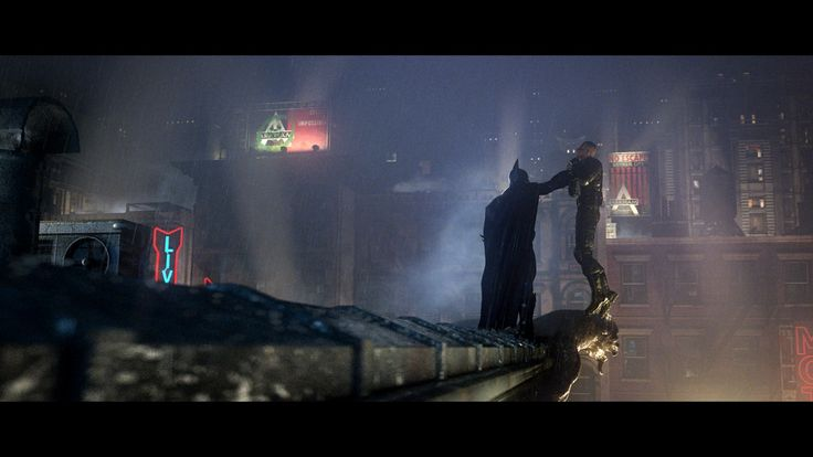 Batman Arkham City Cinematic Trailer Still Picture  (3d, batman, scene)