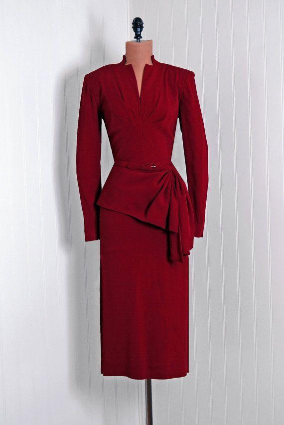 1940s cocktail dress